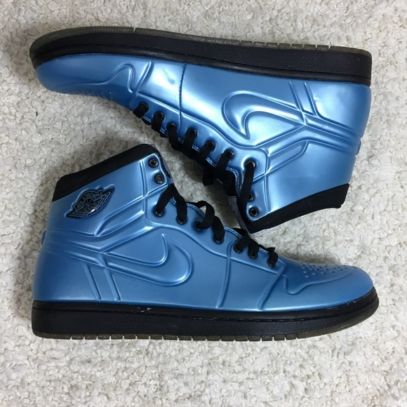 on sale 5bef0 e5e18 Nike Air Jordan 1 Anodized Foamposite Armor blue. M 5c3124a7d6dc52058338c9e1